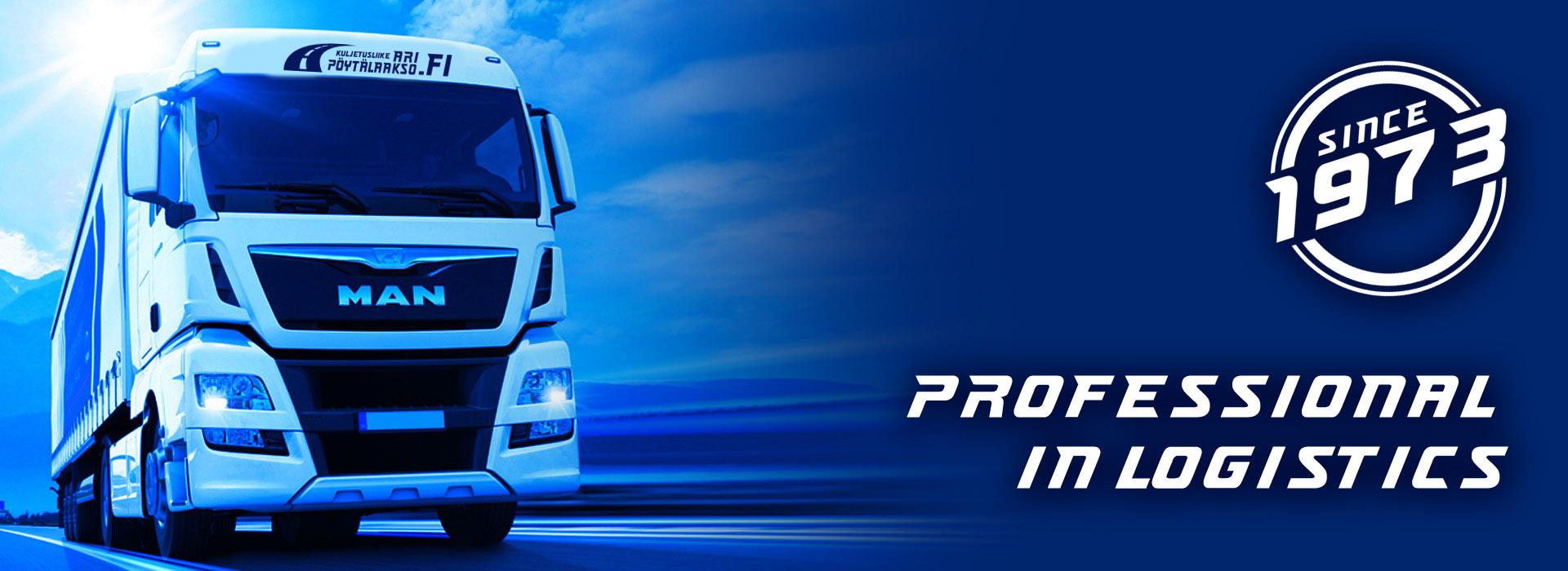 Customer-oriented transport with good attitude and high quality of service!